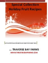 Holiday Fruit Recipes