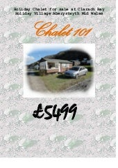 Holiday chalet for sale at clarach ...