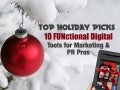 10 FUNctional Digital Tools for Marketing & PR Pros