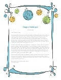 Holiday Newsletter by Sweetney