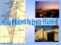 Holy Places In Eretz Yisroel.Iyh