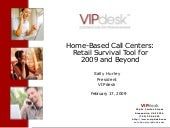 Home Based Call Centers Retail Surv...