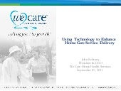 Home Care Technology Ppt    Sept  8...