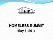 Homeless presentation 2011