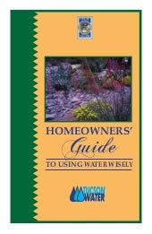 Homeowner's Guide to Using Water Wi...