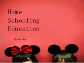 Home schooling education