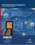 Home Technology Integration: TSTC Forecast-2007