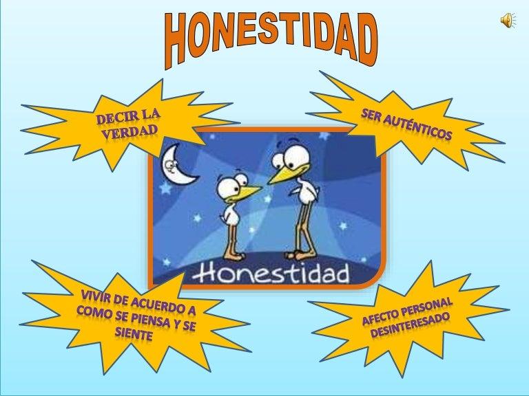 Honestidad