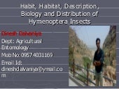 Habit, Habitat,Description, Biology...