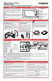 Honeywell 6280-install-guide