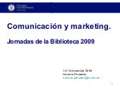 Comunicacion y marketing