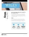 How Did Social Media Education Increase Wiley's Employee Engagement Online By 90%? #Hootsuite #casestudy #video