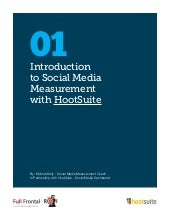 Introduction to Social Media Measurement with HootSuite