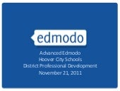 Advanced Edmodo