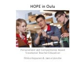 Hope in oulu linz