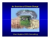 An overview of Climate Change - Ala...