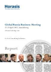 Horasis Global Russia Business Meet...