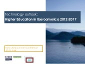 Technology outlook: Higher Educatio...