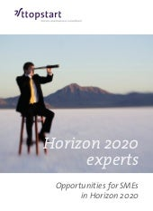 Horizon 2020 for SMEs - ttopstart, ...
