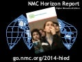 NITLE Shared Academics: An Open Discussion of the 2014 Horizon Report