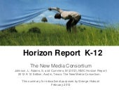 Horizon Report K-12 - 2012