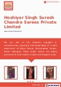 Hoshiyar singh-suresh-chandra-sarees-private-limited