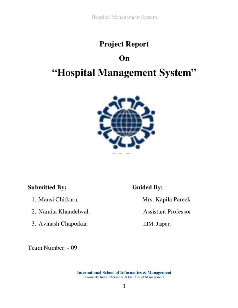 System Flow Diagram For Hospital Management System Hospital Management-system