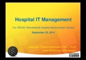 Hospital IT Management