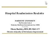 Hospital Readmission Roullette