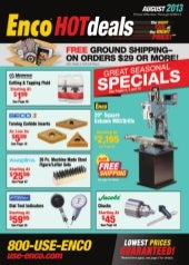 HOTdeals August 2013 Catalog
