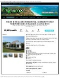 House in secluded residential community near tamarindo and avellanas. cod hd