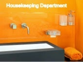 Housekeeping dept.