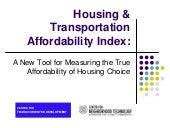 Housing Affordability Presentation