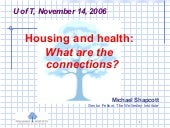 Housing and Health: What are the Co...