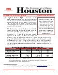 Houston Economy at a Glance - Augst 2011