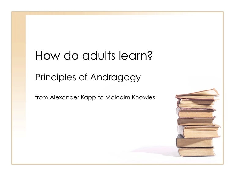 How Do Adults Learn