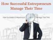 How Successful Entrepreneurs Manage...