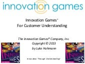 How to be an effective Innovation Games Observers