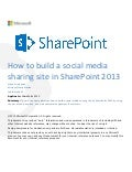 How to-build-a-social-media-sharing-site-in-share point-2013