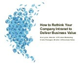 How to Rethink Your Company Intranet to Deliver Business Value