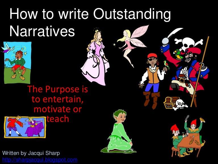 How Do You Write A Narrative?