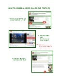 How To Embed Videos