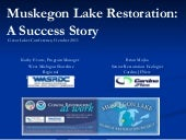 Muskegon Lake Restoration: A Succes...