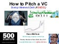 How 2 Pitch a VC (New Delhi, Dec 2011)