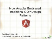 How AngularJS Embraced Traditional ...