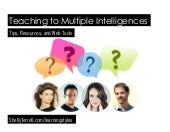 Multiple Intelligences and Learning Styles