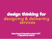 Design thinking for designing and d...