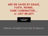 How are we saved?