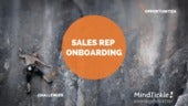 How better sales rep onboarding can boost your topline