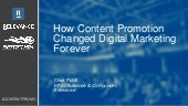 How Content Promotion Changed Digital Marketing
